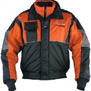 Mustang Mens Deluxe Ice Rider Bomber Jacket