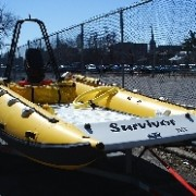 13' SeaWolf Inflatable Rescue Boat