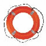 Stearns 24″ Ring Buoy w/Reflective Tape