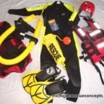 RST1B – Rescue Swimmer Technician Personal Gear – Grizzly Size Wetsuit