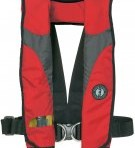 MD3082  Mustang Survival Deluxe Inflatable PFD w/Harness (Manual)