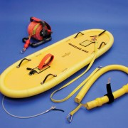 IRS Kit B Ice Rescue Sled , 600' Rope Reel & Cold Water Rescue Sling..