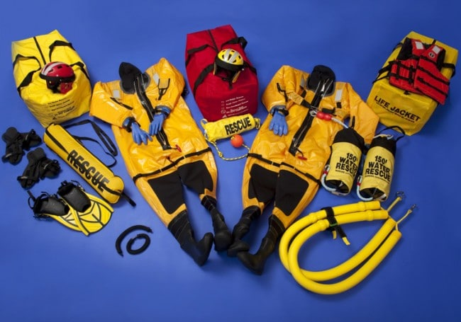 IRRK Kit C Ice Rescue Response Engine Kit W/Mustang Ice Rescue Suits