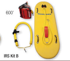IRS Sled, 600' Tether Reel, and Sling